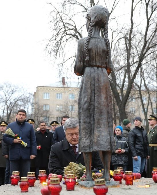 """Украинцы зажгли """"свечу памяти"""". Голодомор — это следствие потери государственности"""