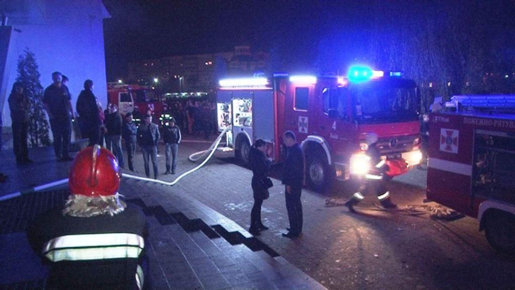 В полиции назвали причину возгорания во Львове