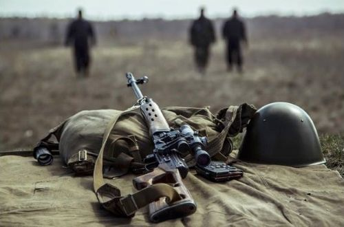 Боевики на Донбассе, иллюстрация.