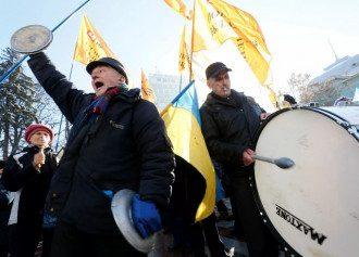 Митинг в центре Киева