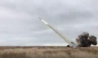 """Испытания ракетного комплекса """"Ольха""""."""