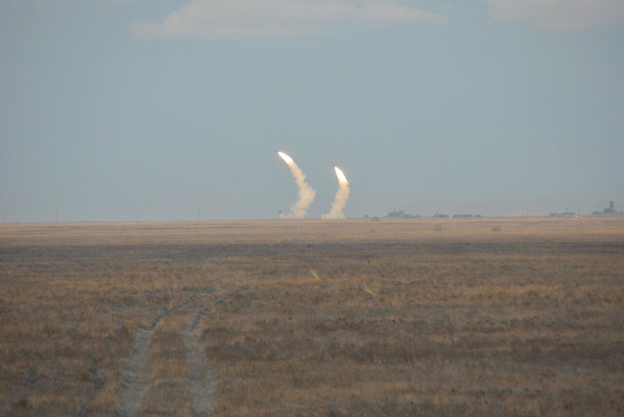 Ракетные испытания в Украине