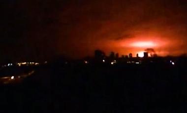 В Донецке взлетел на воздух склад боеприпасов