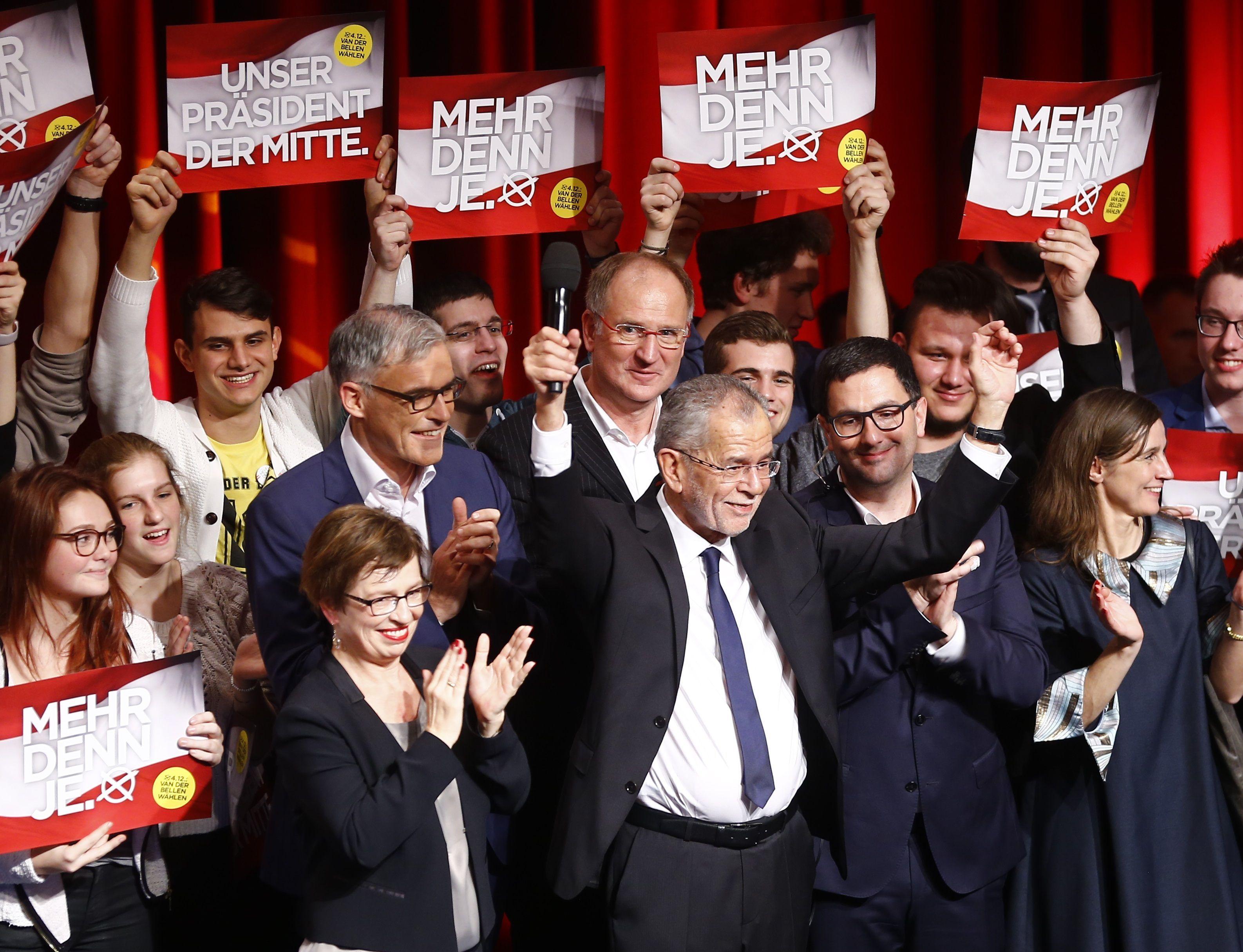 Александер ван дер Беллен со своими сторонниками