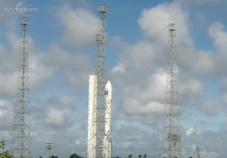 Ракета-носитель Vega с турецким разведывательным спутником