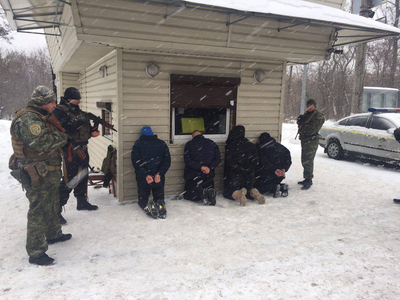 4939968c05b7 Разбой в Харькове. Полицейские поймали банду грабителей, отобравших ...