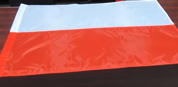 Флаг Польши, иллюстрация