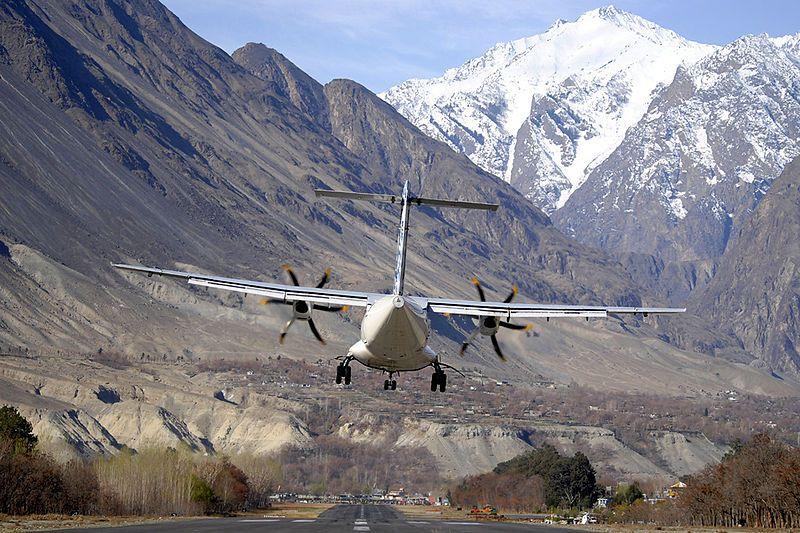 Самолет авиакомпании PIA