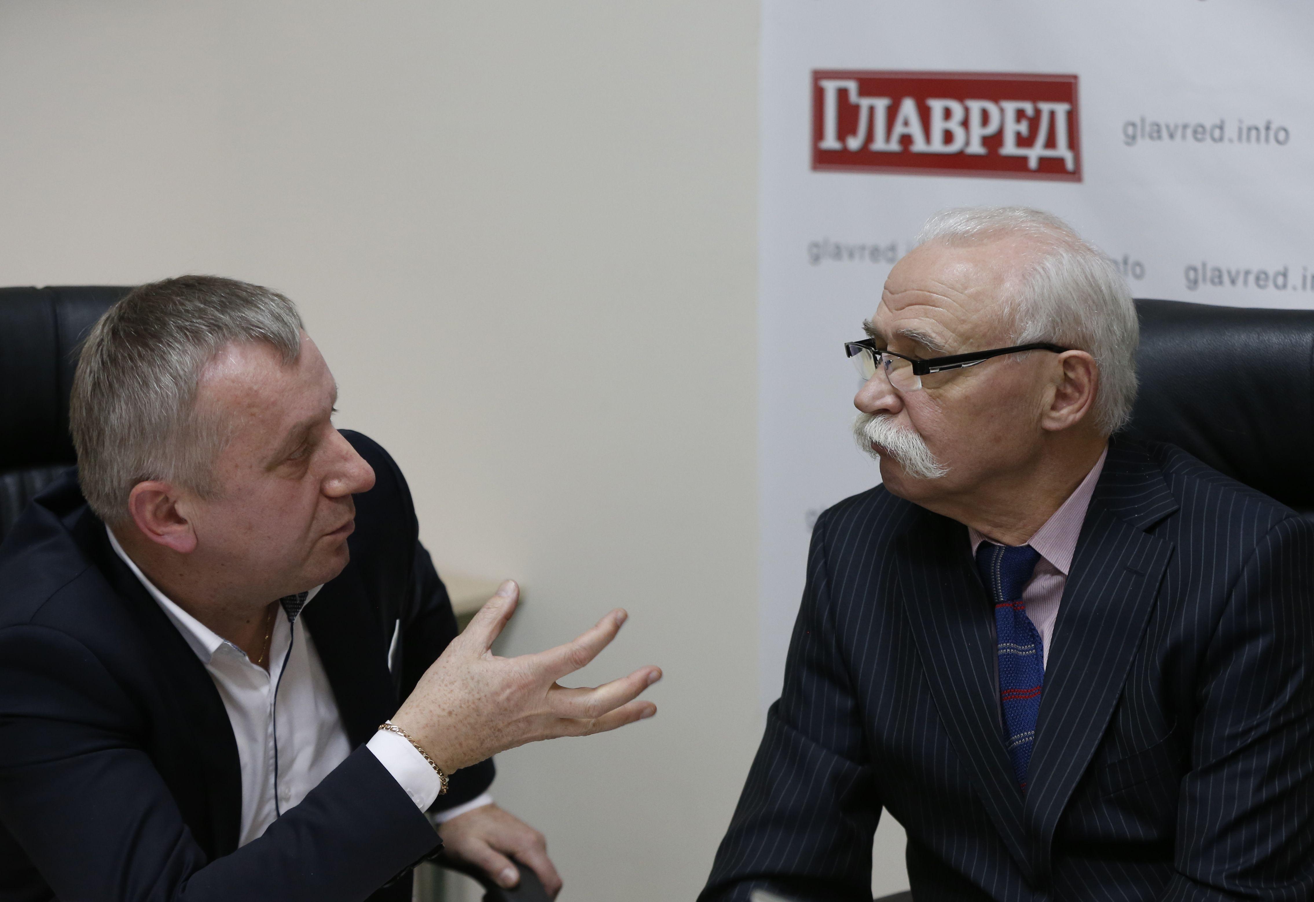 Зеновій Корінець та Ігор Курилів