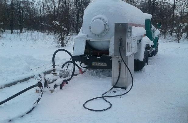 Нелегальная газовая АЗС
