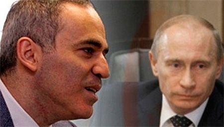 Гарри Каспаров и Владимир Путин, иллюстрация