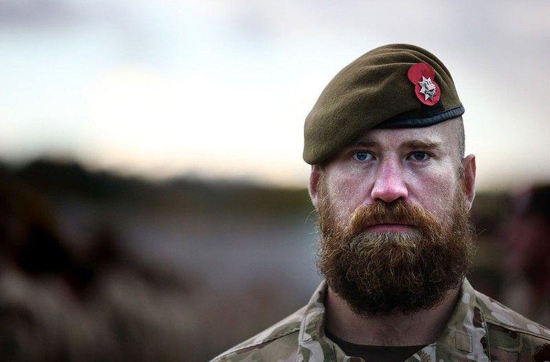 Военный с бородой