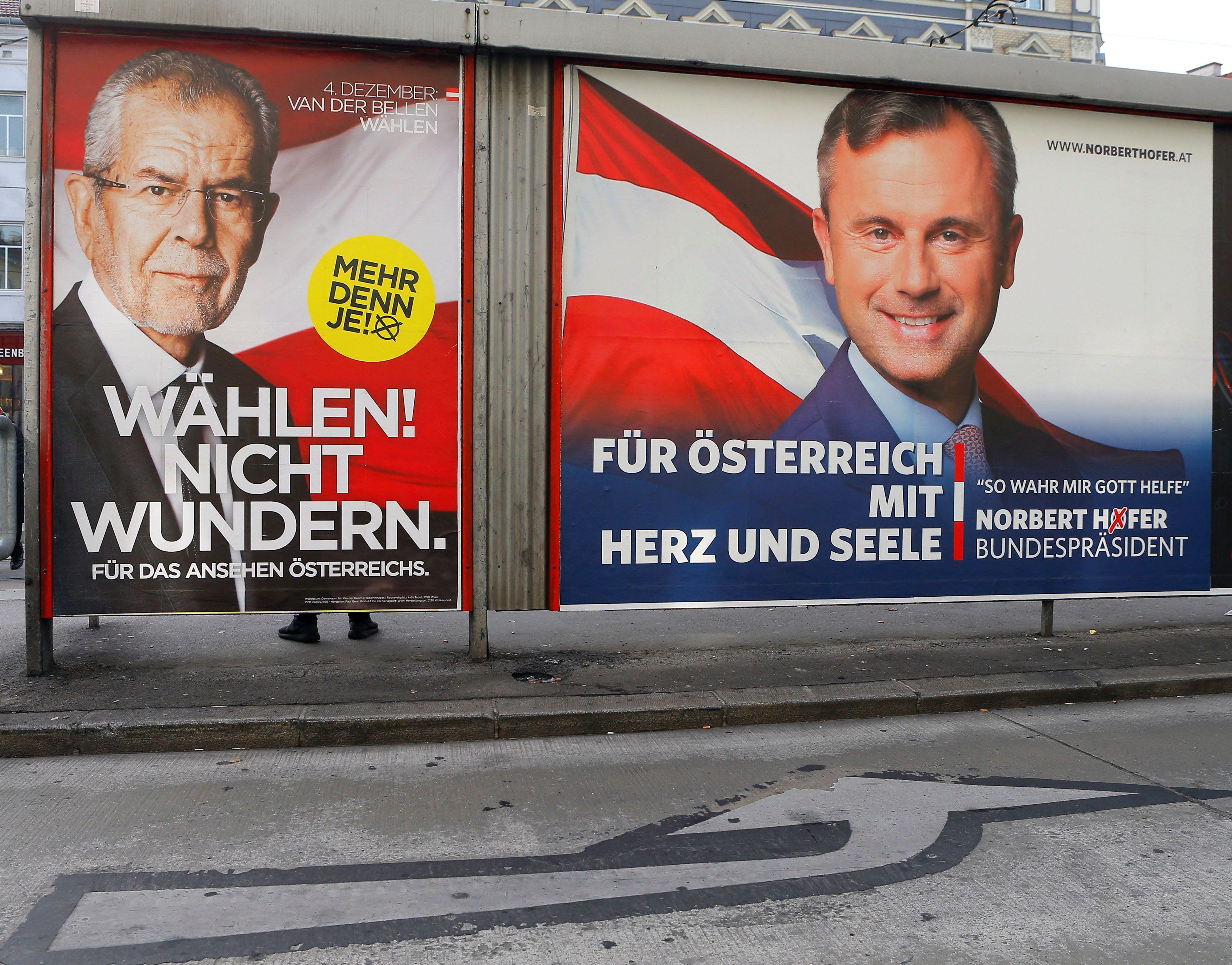 Предвыборная кампания стала самой дорогой в истории Австрии