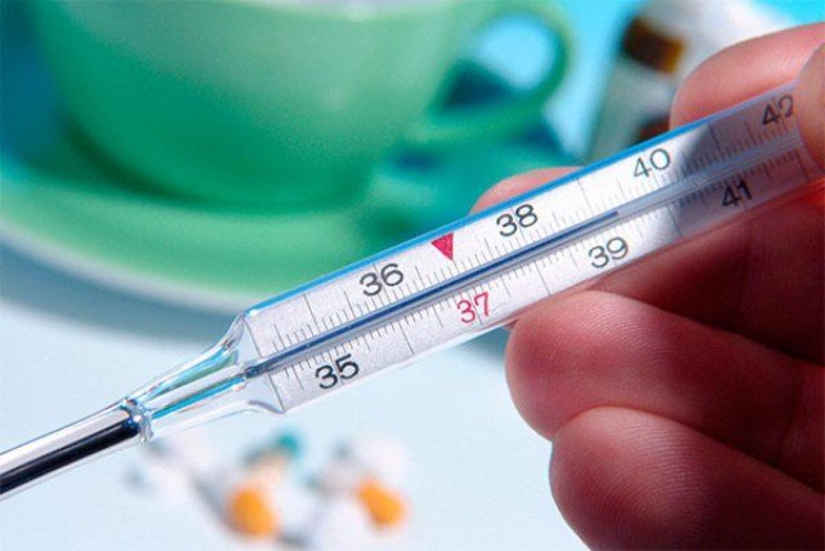 термометр, грипп