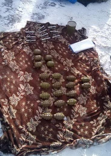Изъятые боеприпасы