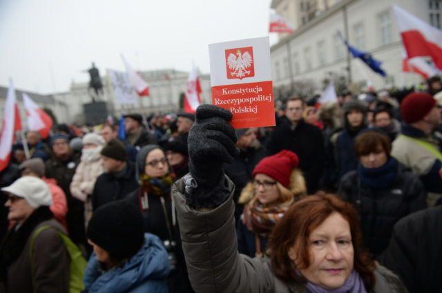 Протесты в Польше