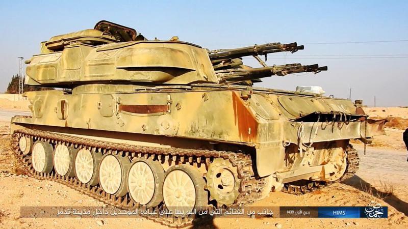 ИГИЛ захватил большое количество техники