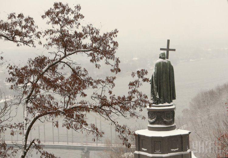 Памятник Владимиру Великому, иллюстрация