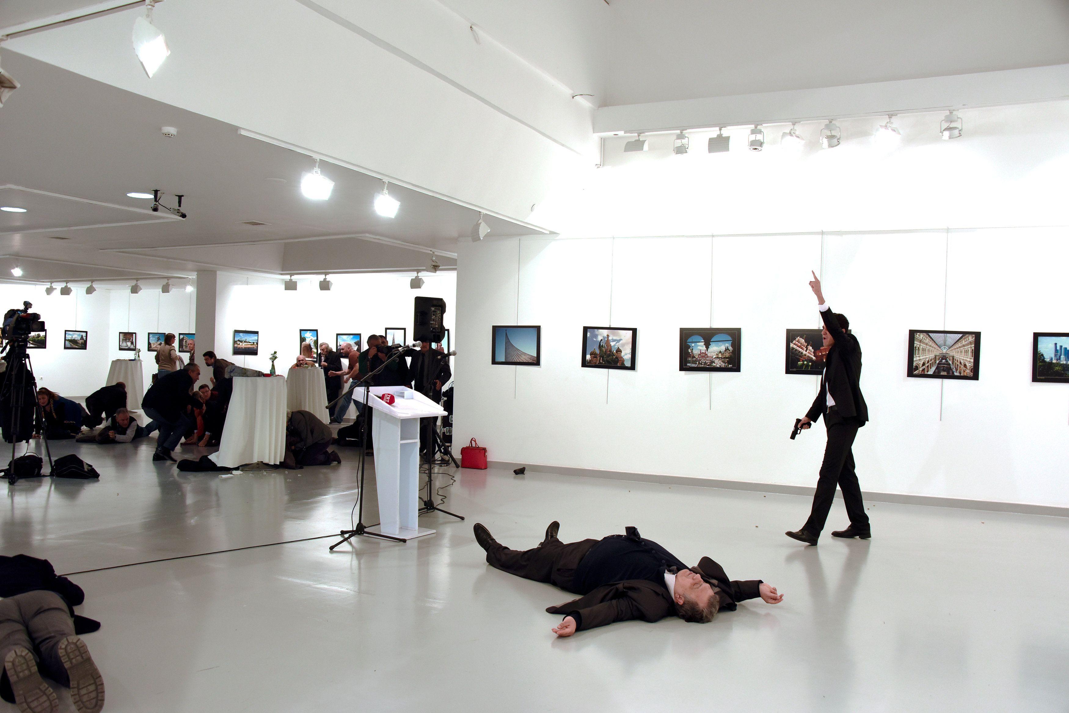 Место убийства Андрея Карлова