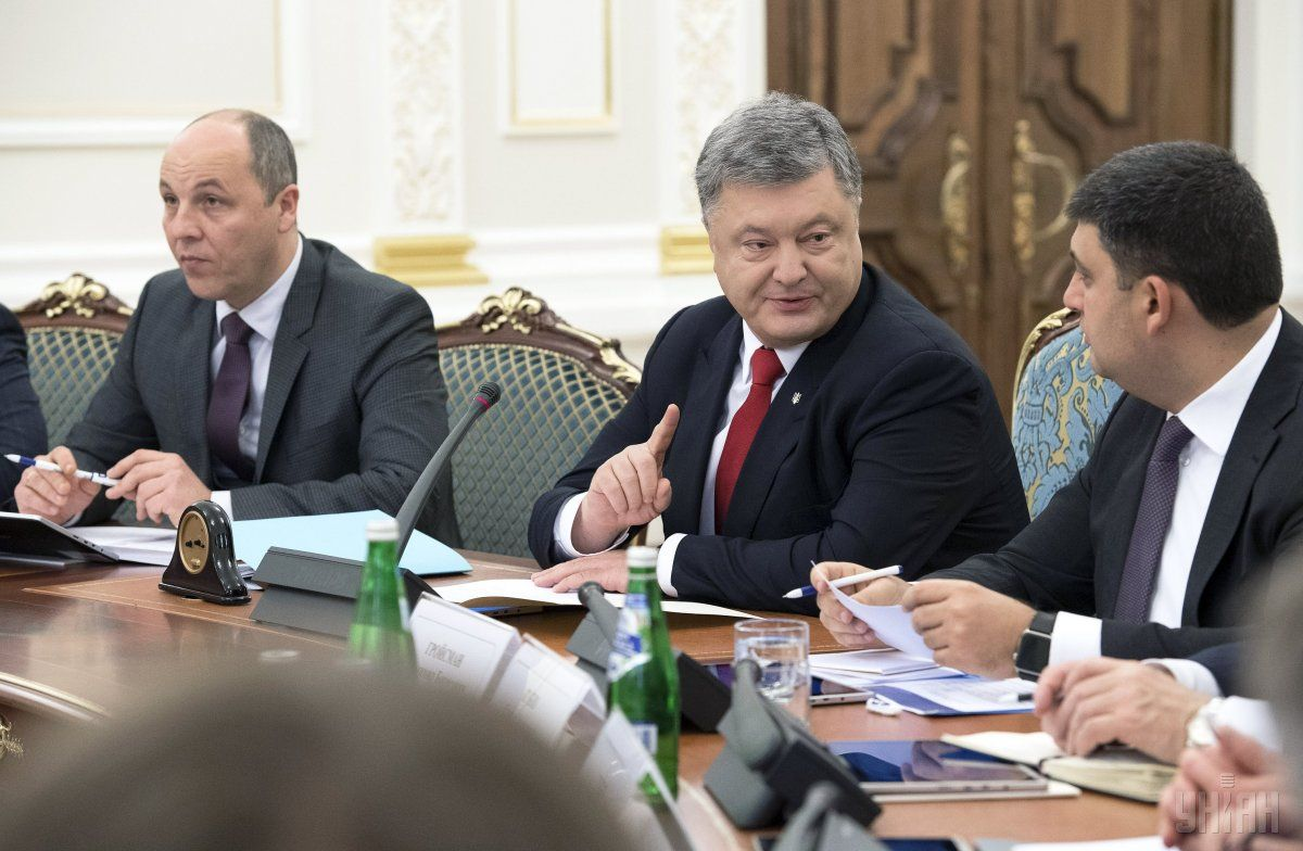 Картинки по запросу Порошенко, Гройсман и Парубий - фото