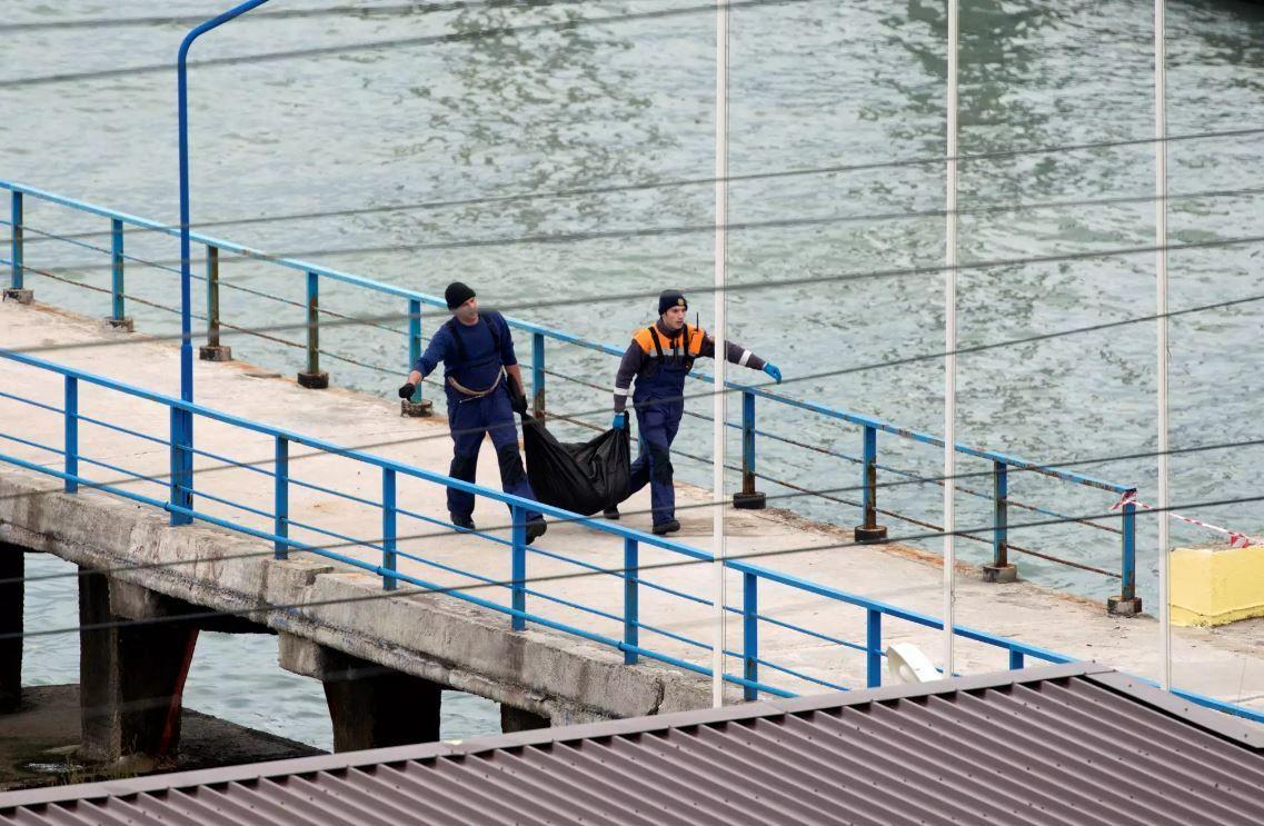 Спасатели на месте поиска разбившегося самолета