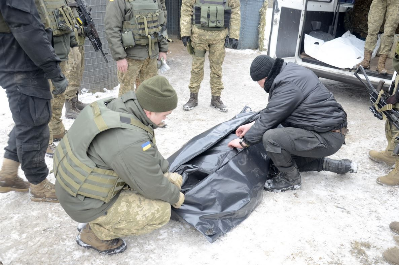 Украине передали тела двух военных