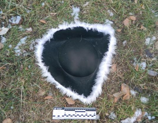 Шляпа, в которой был злоумышленник