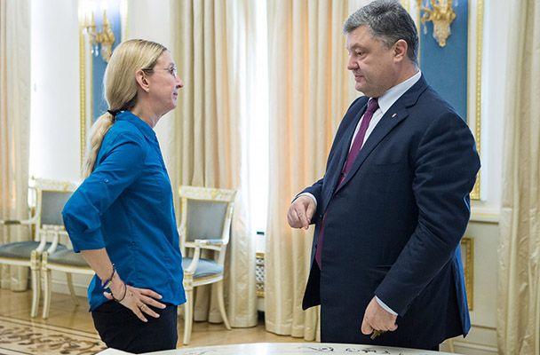 Ульяна Супрун и Петр Порошенко