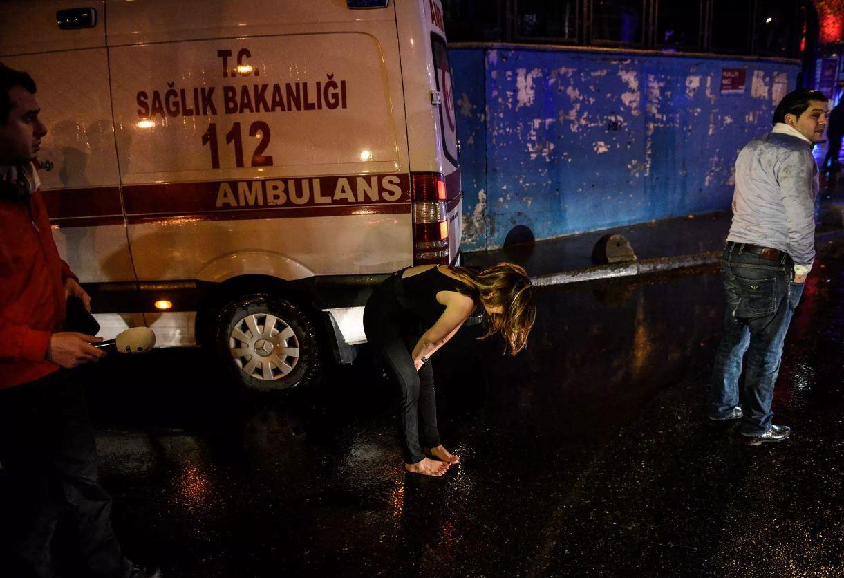 Стрельба в ночном клубе в центре Стамбула. Жертвами стали 39 человек