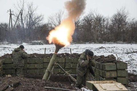 Боевики ударили из минометов