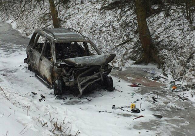 В Хмельницкой области Range Rover слетел с трассы