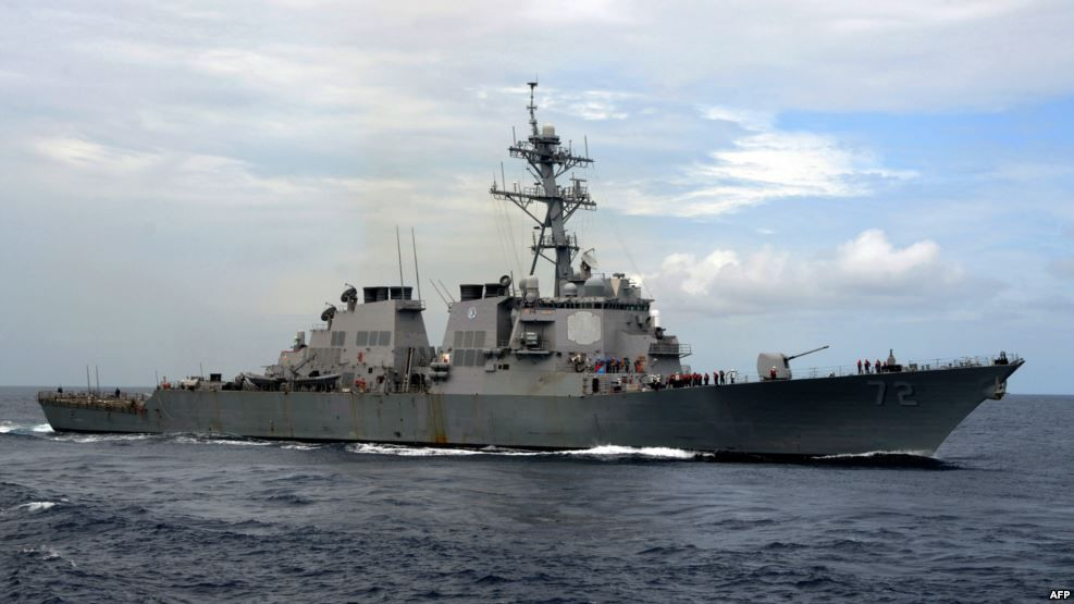Эсминец USS Mahan