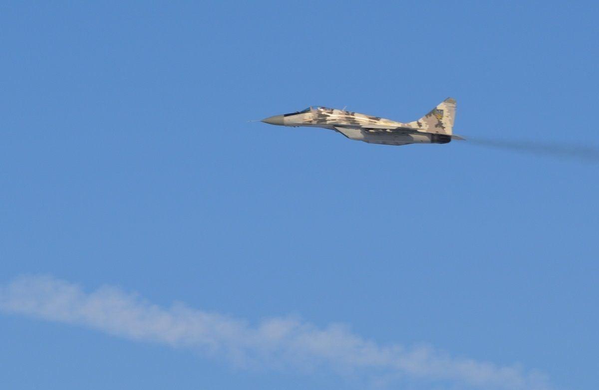 Самолет украинских ВВС