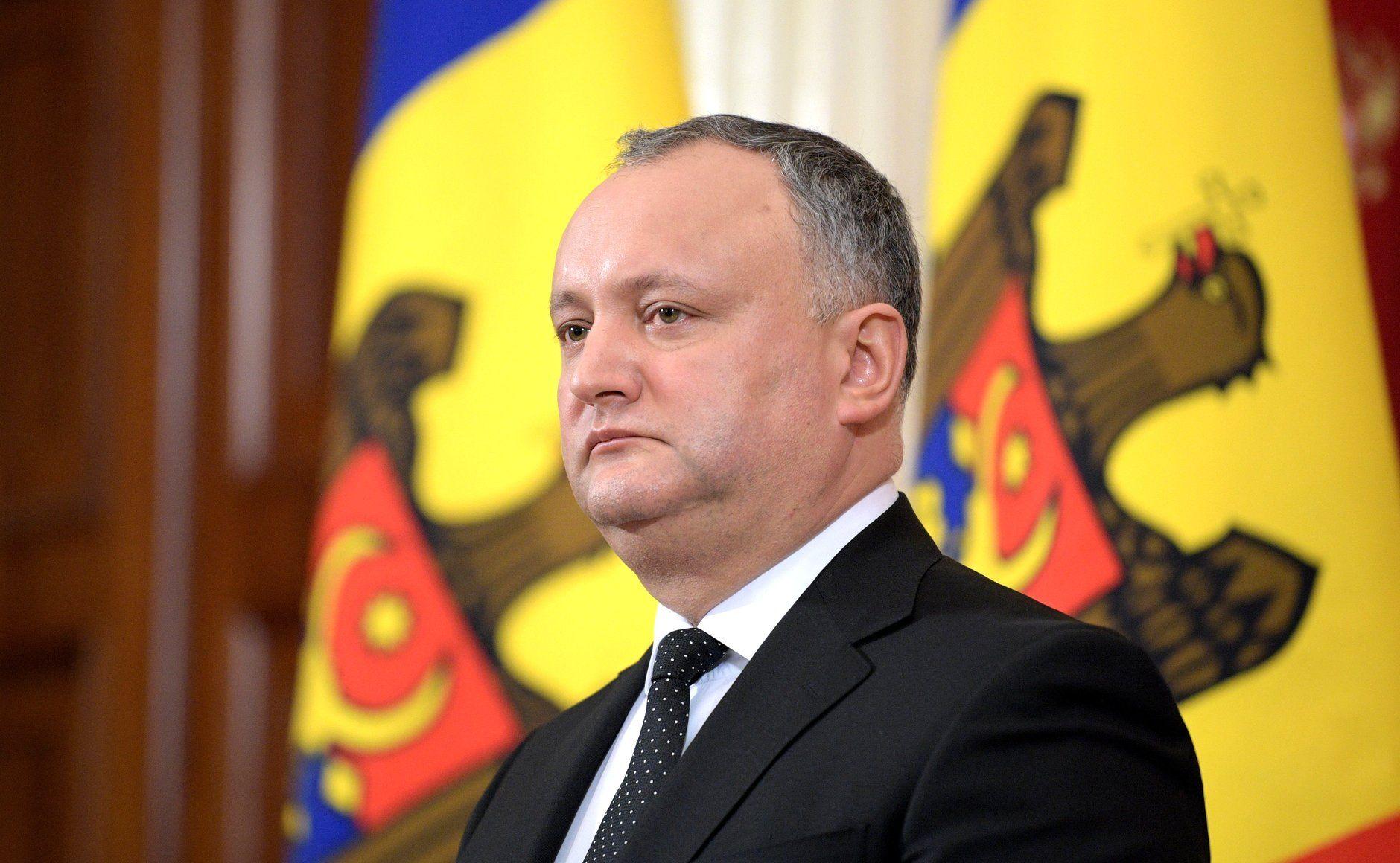 Игорь Додон, Молдова, президент