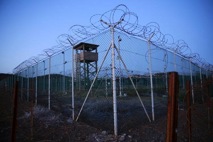 Тюрьма в Гуантанамо, иллюстрация