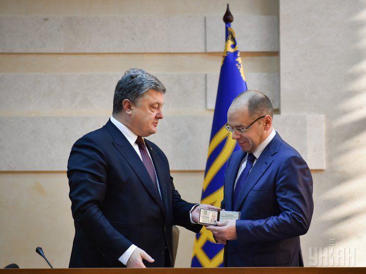 Порошенко и Степанов