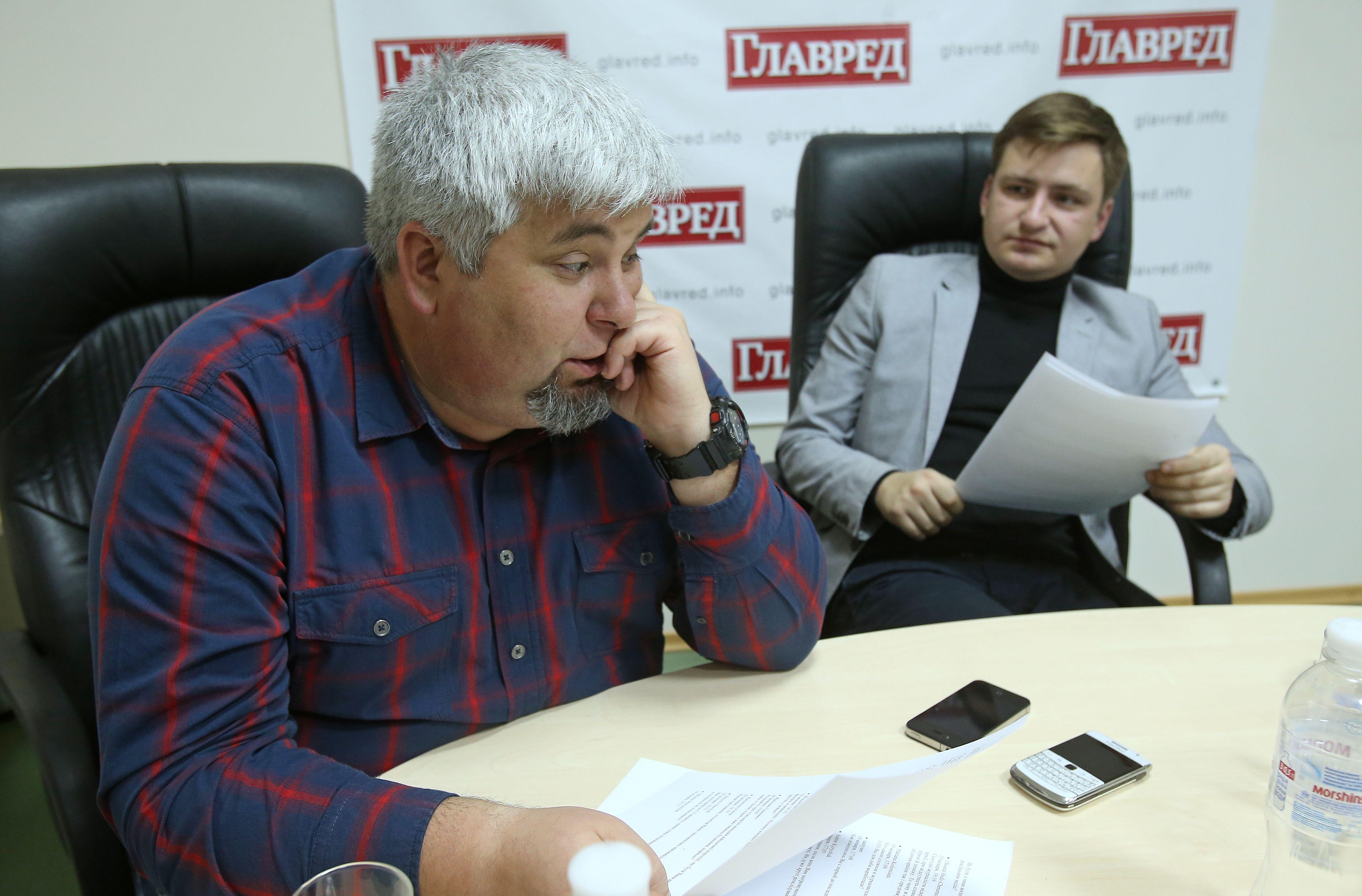 Іван Магда та Андрій Стельмах
