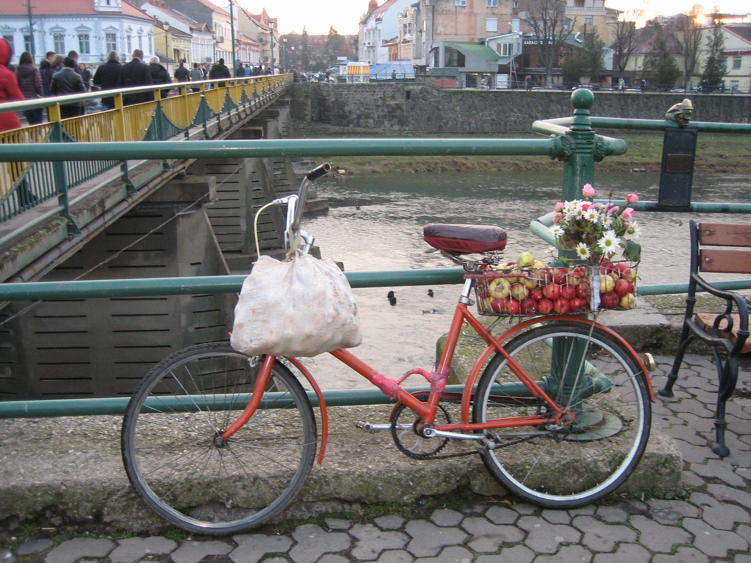 На велосипеде по европейскому городу