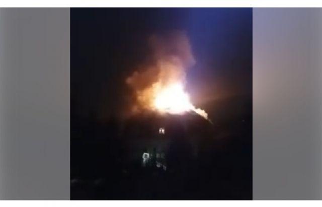 На Закарпатье горел дом Варцабы