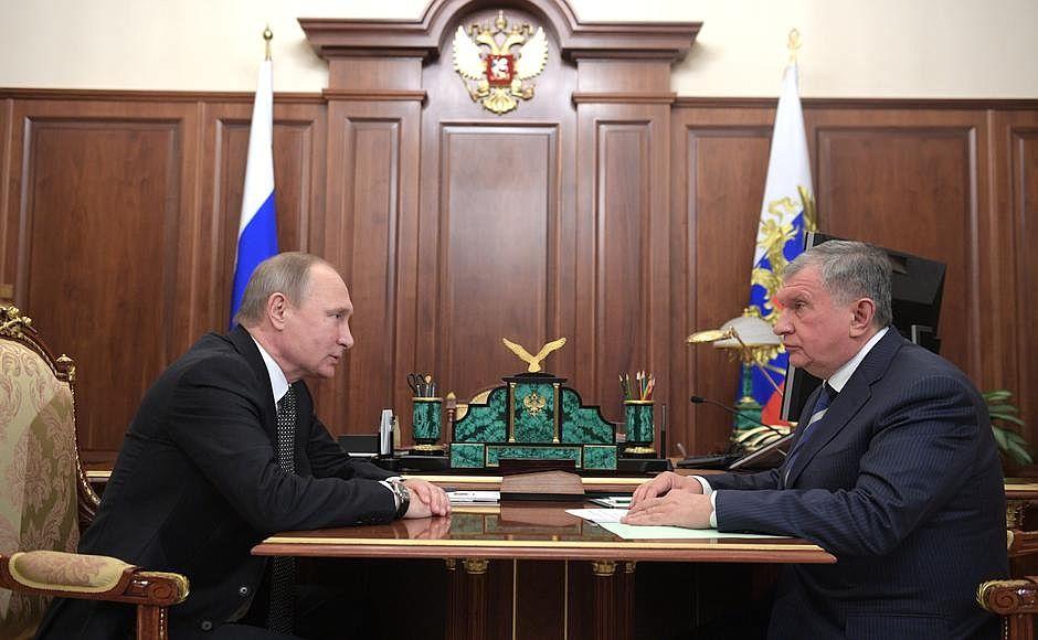 Путин, Сечин