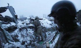 Украинские силовики на Светлодарской дуге, иллюстрация
