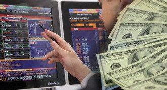 Биржа, акции, доллар