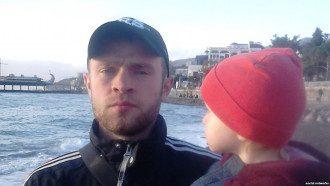 Вадим Сирук с дочерью