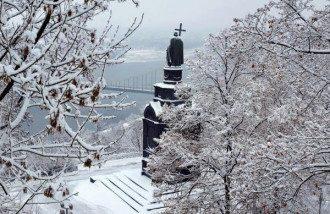 Зима в столице, иллюстрация