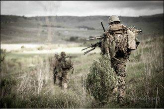 Бойцы АТО на Донбассе