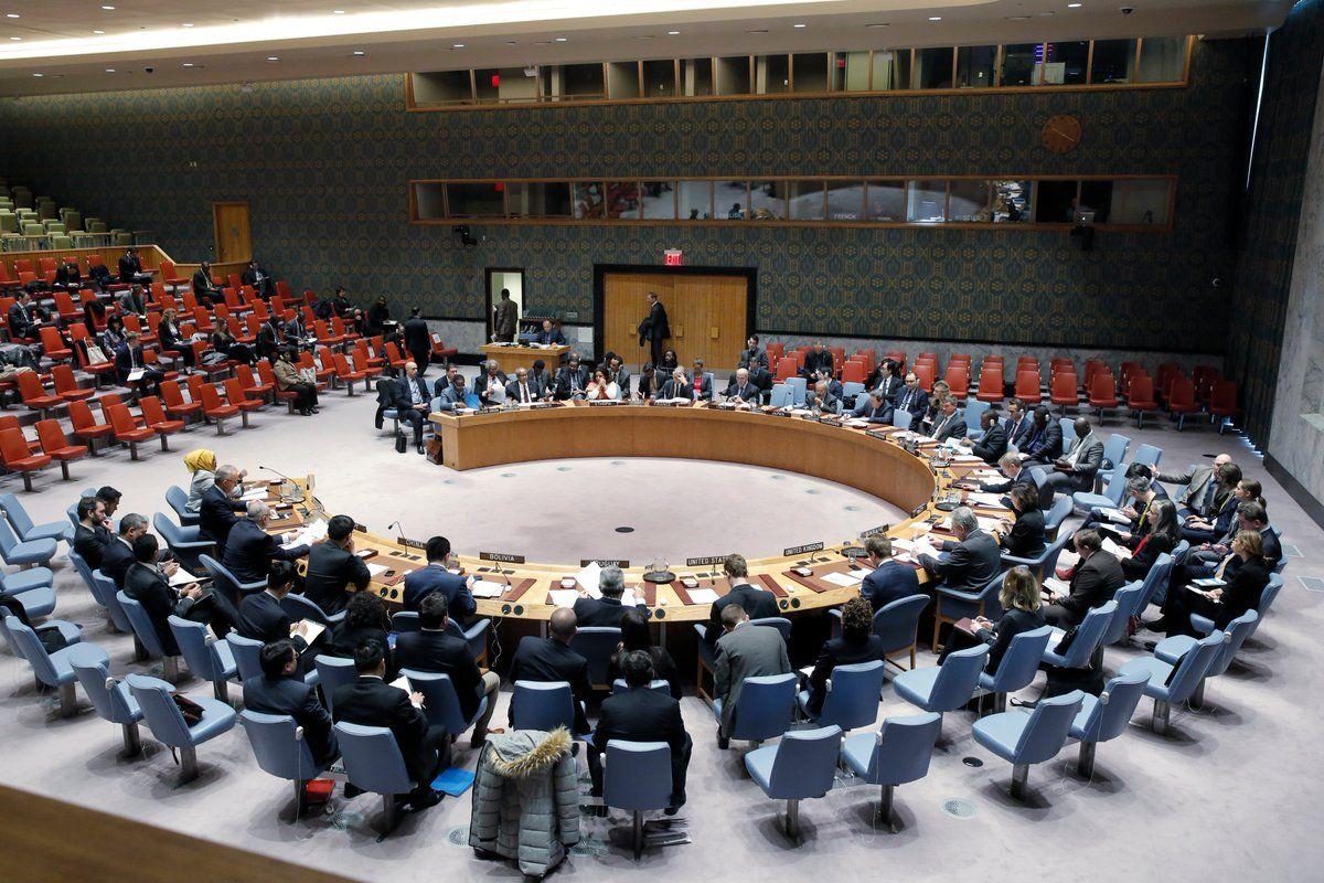 Заседание совбеза ООН, иллюстрация.