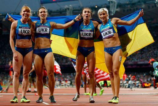 Украинские бегуньи на Олимпиаде-2012