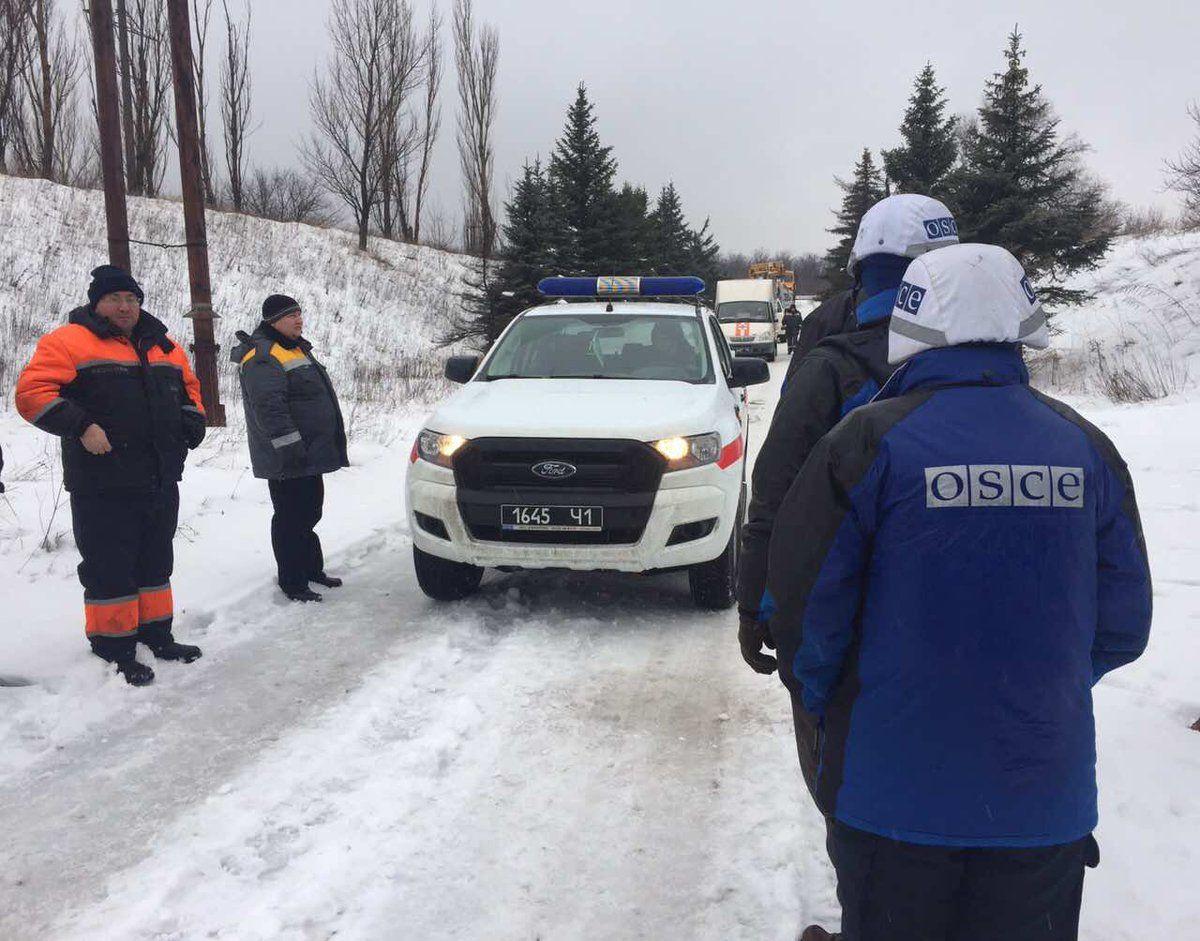 Миссия ОБСЕ на Донбассе, иллюстрация