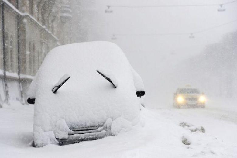 Снег, киев, авто