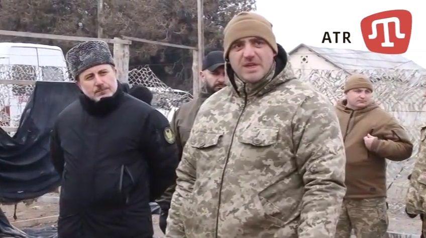 Шпанко извинился за инцидент на базе крымскотатарского батальона.